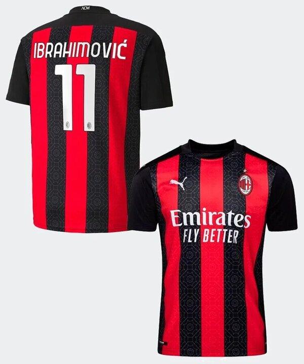 Милан футболка домашняя 2020-2021 Ибрагимович 11