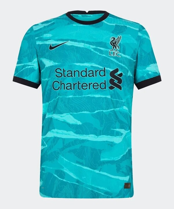 Ливерпуль гостевая форма сезон 2020-2021 (футболка+шорты+гетры)